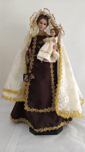 Virgen Del Carmen (maria) De 50 Cm De Vestir