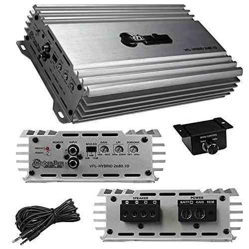 Amplificadores Mono De Audio Y Video Para Auto Vfld