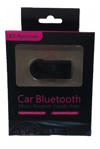 Bluetooth Para Carro Con Salida De 3.5 Mm Sonido Stereo.
