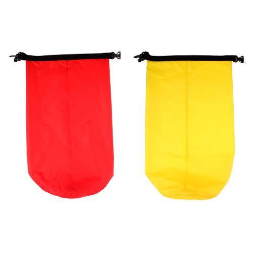 Bolsa De Bolsa De Bolsa Seca Impermeable 2pcs Para Kayak Pe