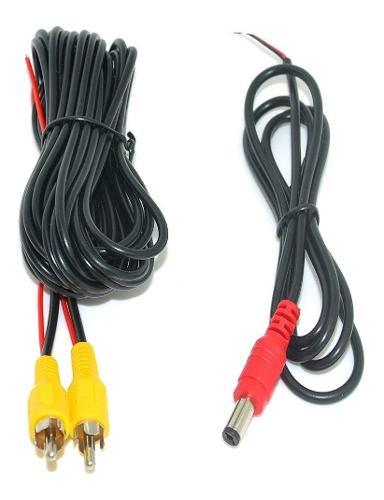 Cable De Video Para Camara De Reversa Con Cable De Alimentac