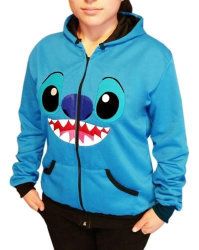 Chamarra Sudadera Stitch Lilo Disney De Moda