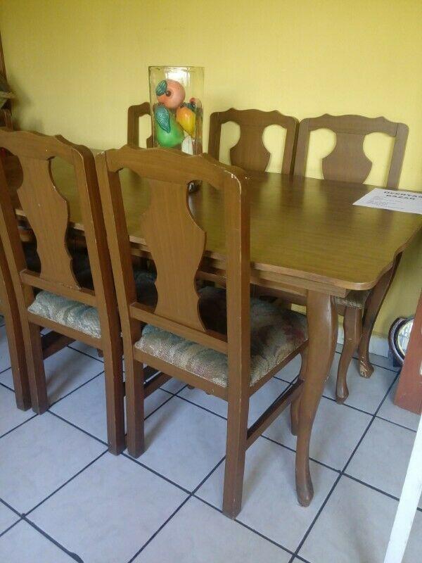 Comedor seis sillas
