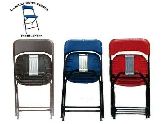 Fabrica de sillas y mesas plegables reforzadas para salones