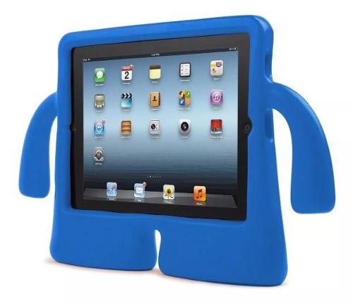 Funda Para iPad 2 3 4 Uso Rudo Para Niños Manitas Brazos