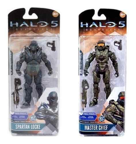 Halo Master Chief Y Spartan Loke Mc Farlane Toys Nuevos X2