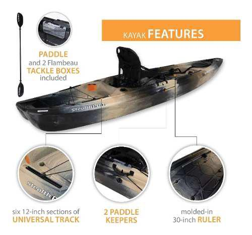 Kayak Lifetime Emotion Stealth Pro Para Pesca