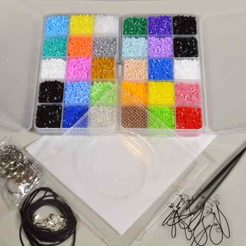 Kit Colosal  Hama Beads Mini 2.6mm - Envío Incluido