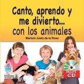 Libro Canto, Aprendo Y Me Divierto... Con Los Animales. *ts