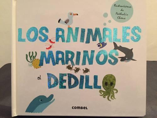 Libro Para Niños, Los Animales Marinos Al Dedillo