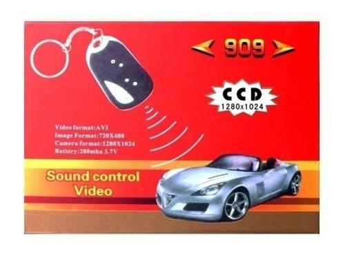 Llavero Auto Cámara Espía Audio Foto Hd Video 30 Fps