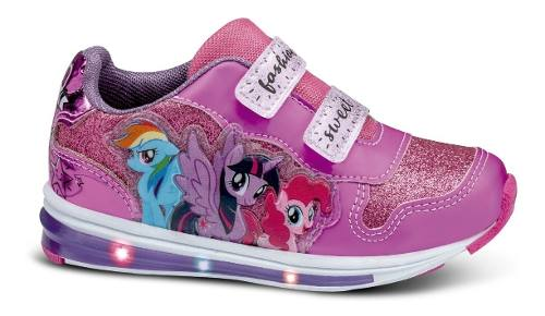 My Little Pony Zapatos Tenis Luces Sport Regalo