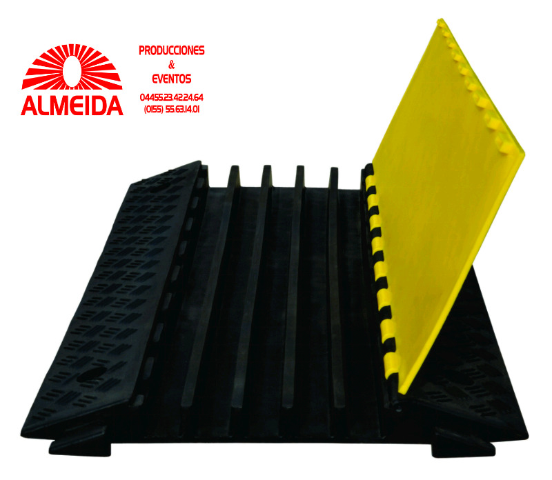 Protectocables de 5 canales tipo yellow jacket