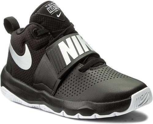 Tenis Nike Team Hustle D 8 Gs Negro/blanco  Nk
