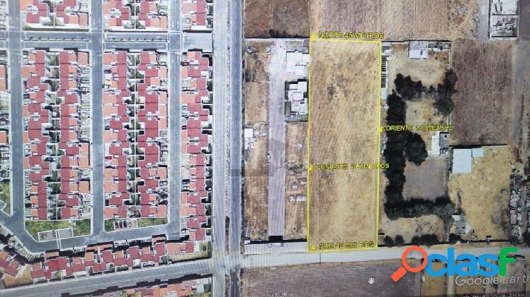 Terreno comercial en venta en Lázaro Cárdenas, Metepec,