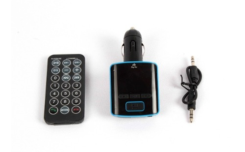 Transmisor Fm Bluetooth Coche Manos Libres 4 In 1