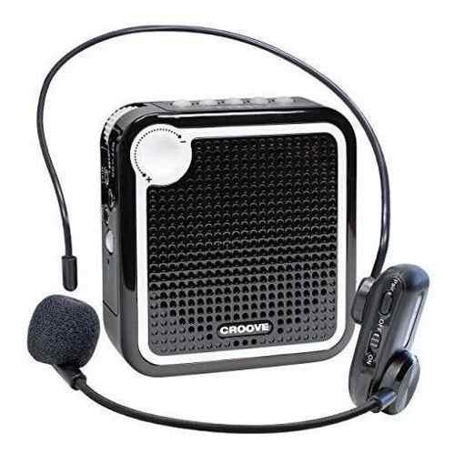 Amplificador De Voz Inalambrico Croove: Microfono Recargable