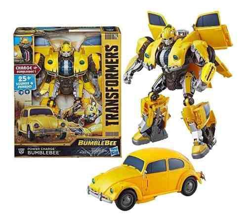Bumblebee Vocho Transformers Con Luz Y 25 Sonidos Nuevo