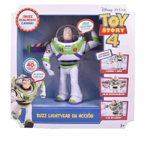 Buzz Lightyear En Accion De Mattel Con Luz Y Sonido 40frases