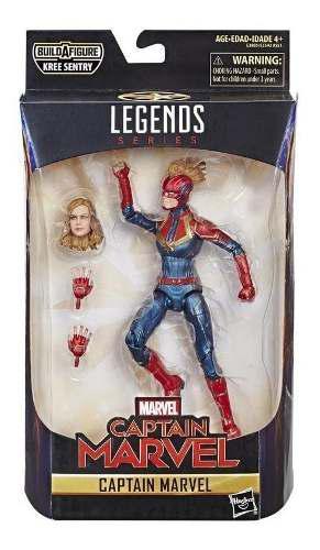 Figura De Acción Capitana Marvel Legends Series