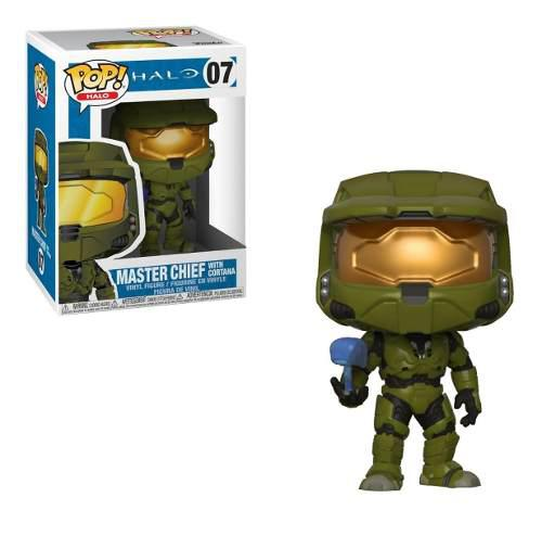 Figura Funko Halo Master Chief With Cortana 07
