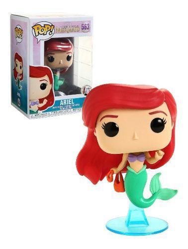 Funko Pop Disney Little Mermaid La Sirenita Ariel Bolsa 563