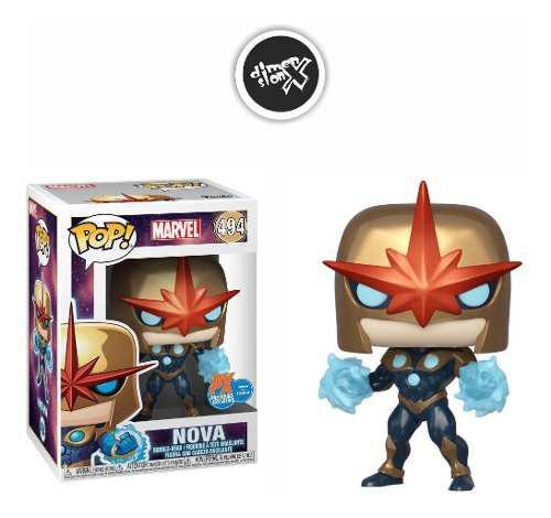 Funko Pop Nova Exclusivo Px Marvel