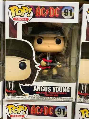 Funko Rodk Pop Angus Young Ac Dc Rock 91
