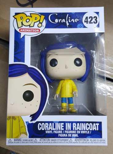 Funko Rodk Pop Coraline In Raincoat 423