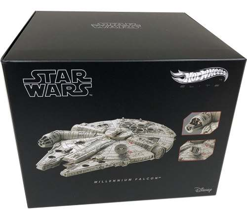 Hot Wheels Star Wars Nave Millennium Falcon Metal Mattel