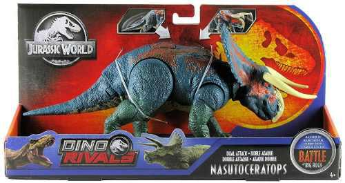 Jurassic World Dino Rivals Nasutoceratops 18 Cm, 2019