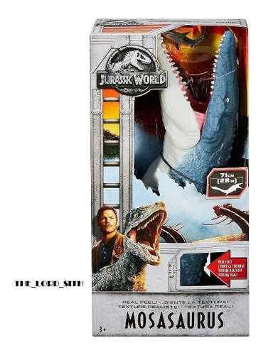 Jurassic World Mosasaurus Gigante 71cm Nuevo De Mattel