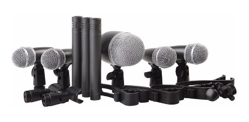 Kit De 8 Microfonos Para Bateria Proel Dmh8xl Meses S/i
