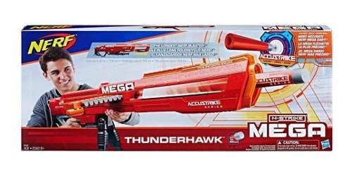 Lanzador Nerf Mega Tunderhawk 10 Dardos