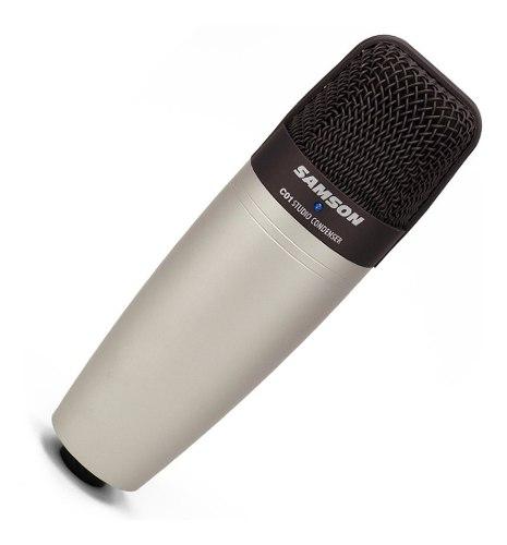Micrófono Cardioide Condensador De Estudio, Samson C01
