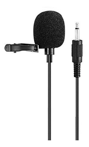 Microfono Tie Clip Para Amplificador De Voz Sistema De Micr