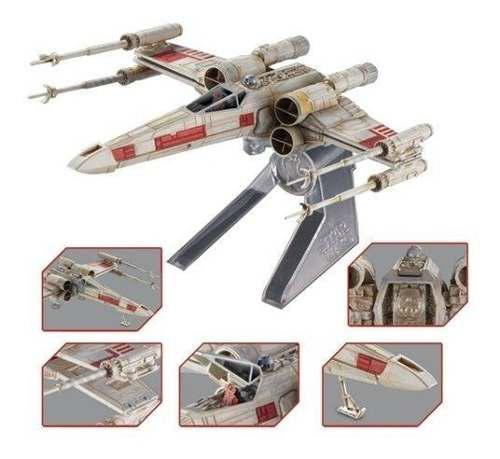 Nave Star Wars X Wing Starfighter Red Five Hot Wheels Elite
