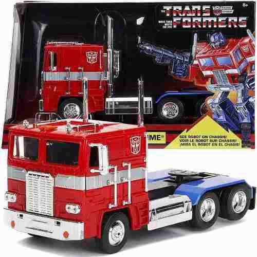 Optimus Prime G1 Autobot Msi Jada Transformers 1:24