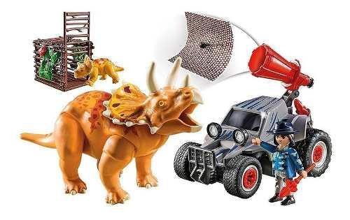 Playmobil Coche Con Triceratops Envío Gratis