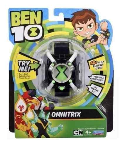 Reloj De Ben 10 Con 40 Frases
