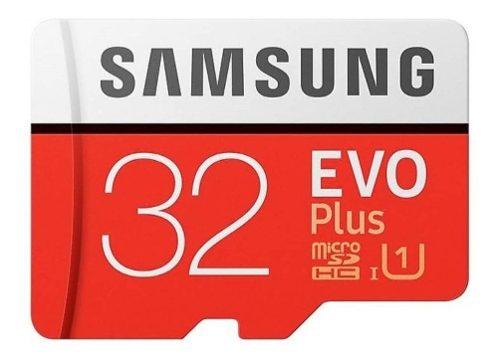 Samsung Evo Plus Memoria Micro Sd 32 Gb Clase 10 Uhs 1