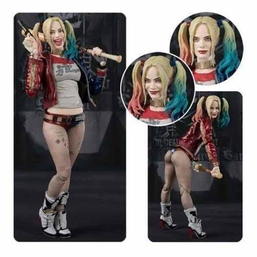 Sh Figuarts Harley Quinn De Escuadron Suicida Enemiga Batman