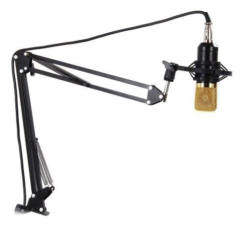 Soporte Base Brazo Ajustable Para Micrófono Condensador