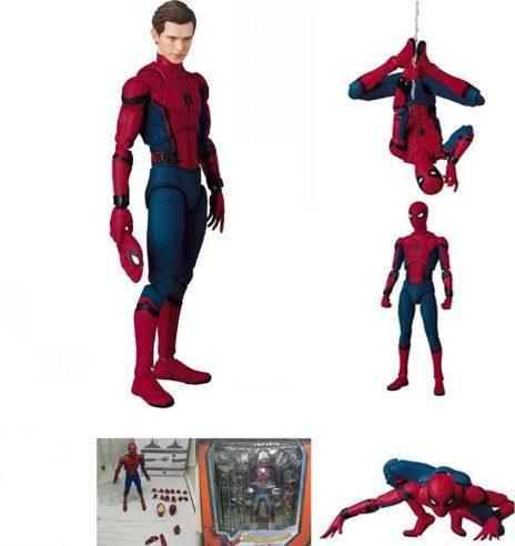 Spiderman Homecoming-mafex 047 Liga De La Justicia!!