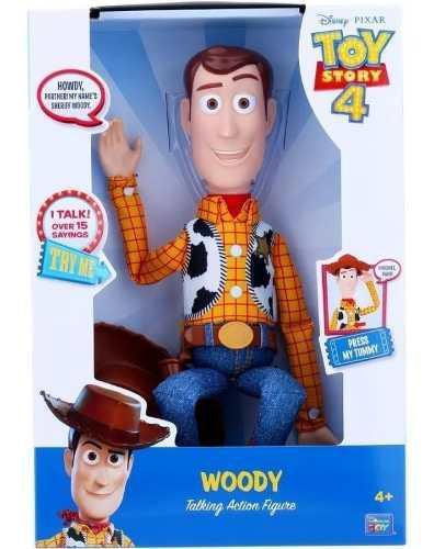 Toy Story 4 Woody Figura De Acción Parlante Frases Español