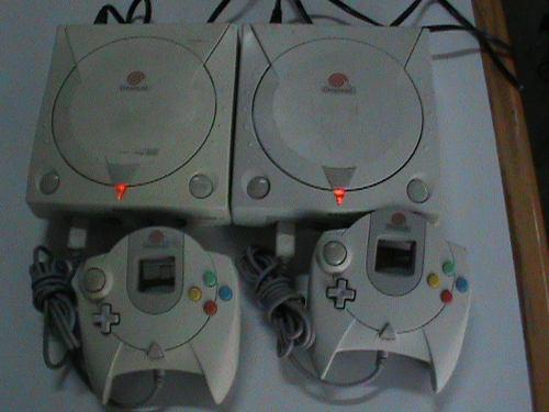 2 Consola De Vídeo Juegos De Dreamcast