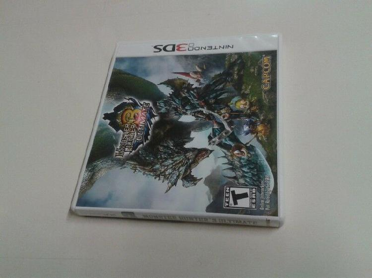 3ds Monster Hunter 3