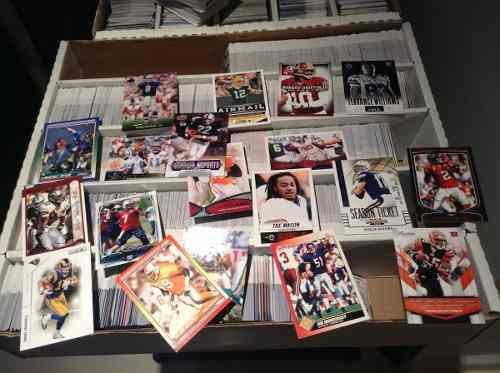 5000 Tarjetas De Futbol Americano Sin Repetir De 1990 A 2014
