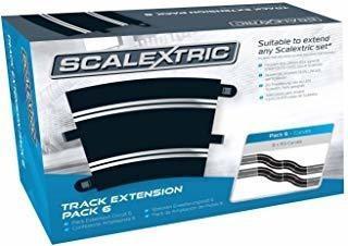 Aj4 Scalextric Extensión Pack 6 1:32 Escala Radio 3 Curvas