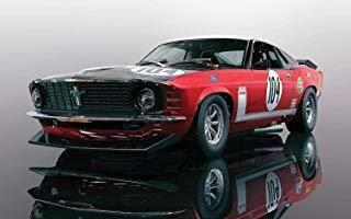 Aj4 Scalextric Ford Mustang Boss 302 - British Saloon Car